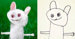 Un papá decidió convertir los dibujos de su hijo en realidad y el resultado es fenomenal