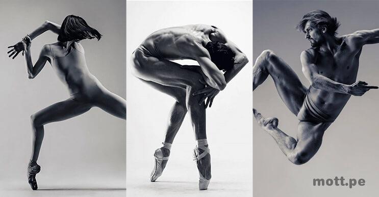 Las increíbles fotografías de bailarines por Vadim Stein