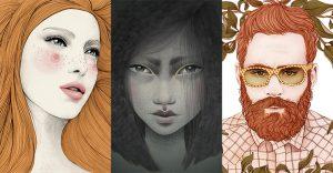 Mercede de Bellard, sus inspiradores dibujos y arte digital
