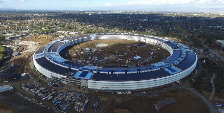 """Así va quedando la """"nave espacial"""" de Apple"""