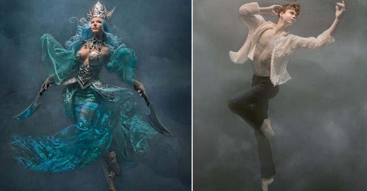 Conoce cómo se tomaron estas impactantes fotografías bajo el agua