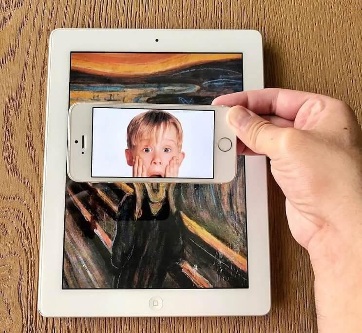 divertidas-escenas-creadas-utilizando-un-smartphone-home-alone