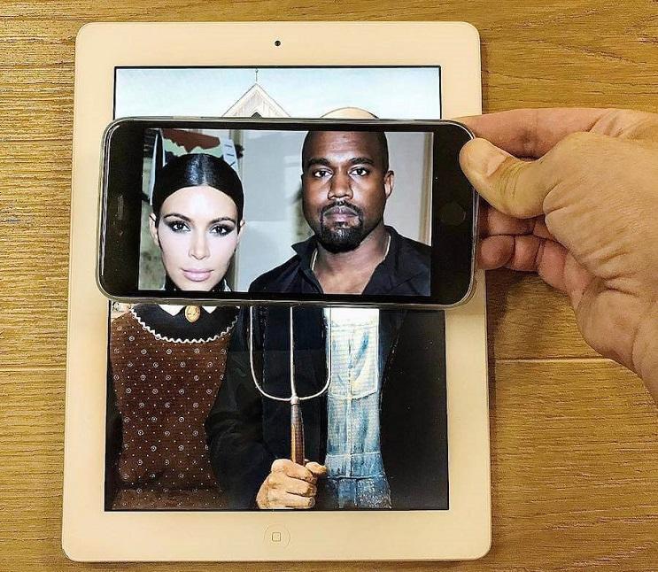 divertidas-escenas-creadas-utilizando-un-smartphone-kardashian-kanye-west