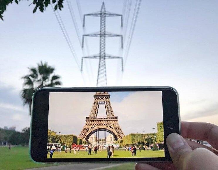 divertidas-escenas-creadas-utilizando-un-smartphone-torre-eiffel