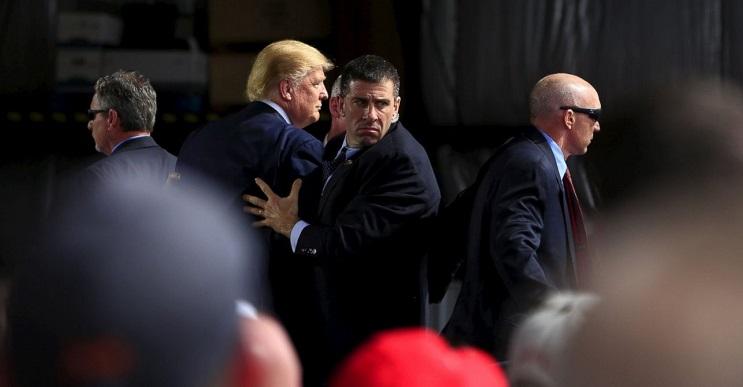 El entrenamiento del Servicio Secreto por si atacan a Donald Trump