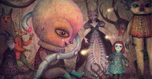 El ilustrador Vladimir Stankovic nos muestra el lado opuesto de los cuentos de hadas