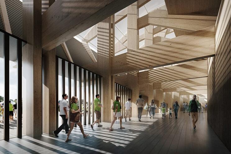 el-primer-estadio-del-mundo-construido-solo-con-madera-pasadizos