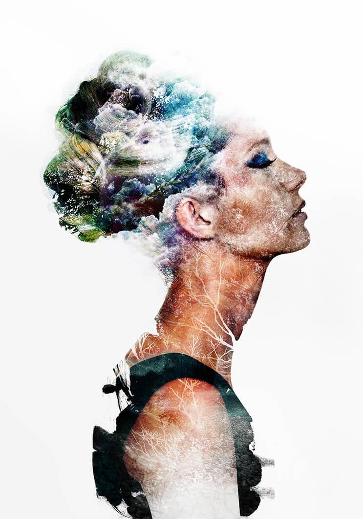 Arte digital por el visionario surrealista Emi Haze