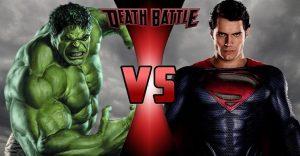Era momento que Superman se las tenga que ver con Hulk