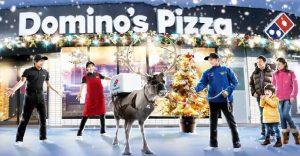 Esta navidad, Domino´s Pizza busca llevar sus pizzas con renos de verdad