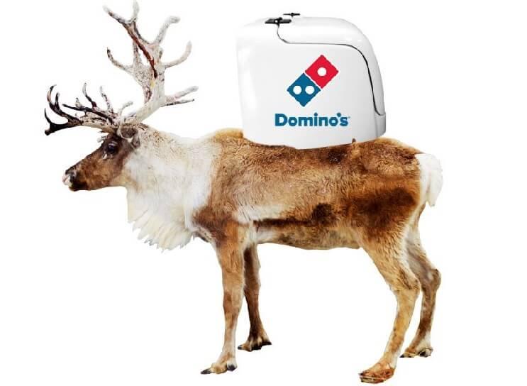 esta-navidad-dominos-pizza-busca-llevar-sus-pizzas-con-renos-de-verdad-delivery