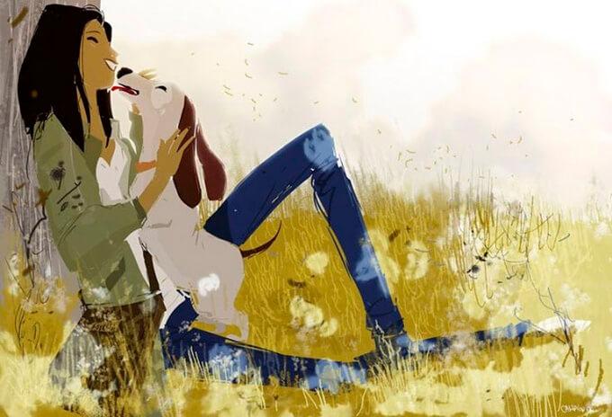 estas-ilustraciones-retratan-de-una-bella-manera-el-amor-hacia-nuestras-mascotas-8