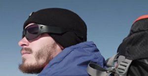 Estos lentes de sol permiten a uno grabar en 360 grados