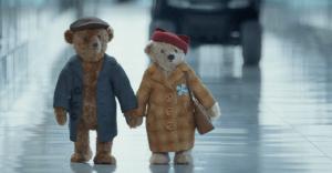 Estos osos de peluche protagonizan uno de los spot más tiernos de esta navidad