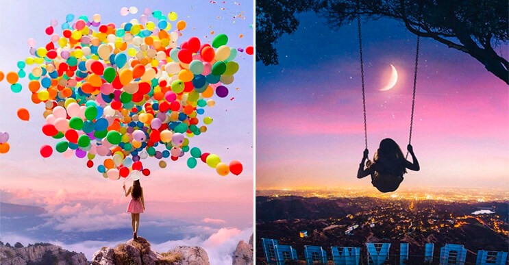 Hermosas fotografías surrealistas por el artista Robert ...