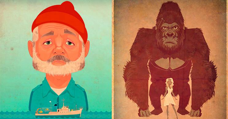Ilustraciones al estilo retro por James Gilleard