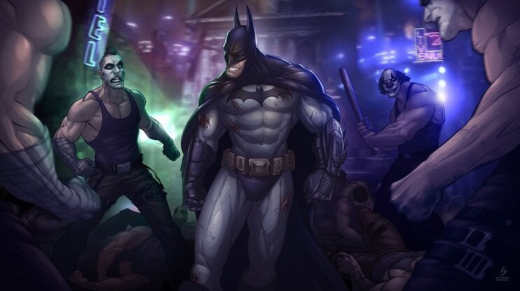 ilustraciones-de-personajes-del-cine-y-la-television-hechas-por-el-artista-patrick-brown-batman