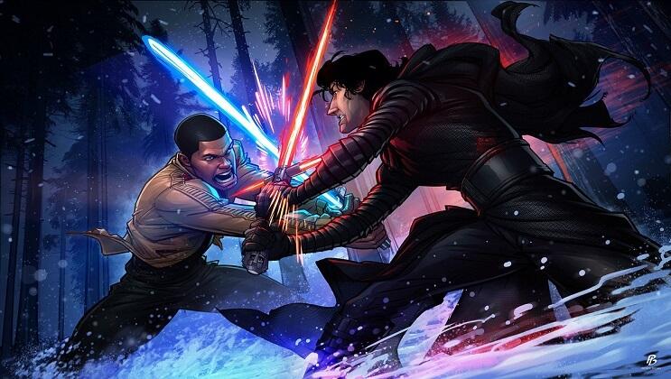 ilustraciones-de-personajes-del-cine-y-la-television-hechas-por-el-artista-patrick-brown-star-wars-the-force-awakens