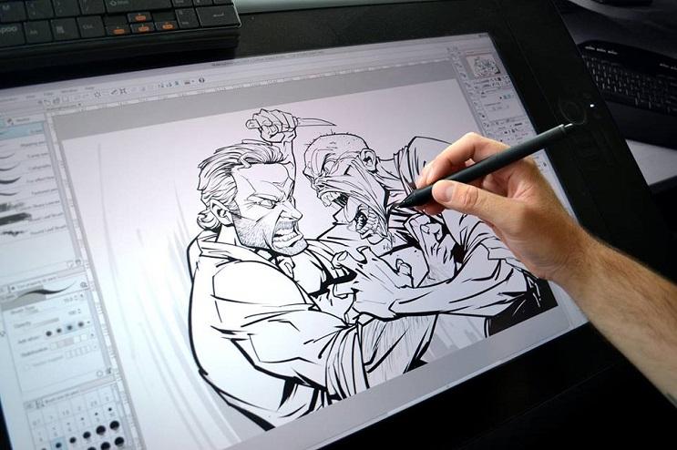 ilustraciones-de-personajes-del-cine-y-la-television-hechas-por-el-artista-patrick-brown-the-walking-dead-plano