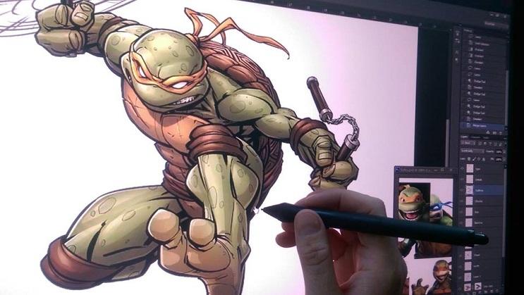 ilustraciones-de-personajes-del-cine-y-la-television-hechas-por-el-artista-patrick-brown-tmnt-plano