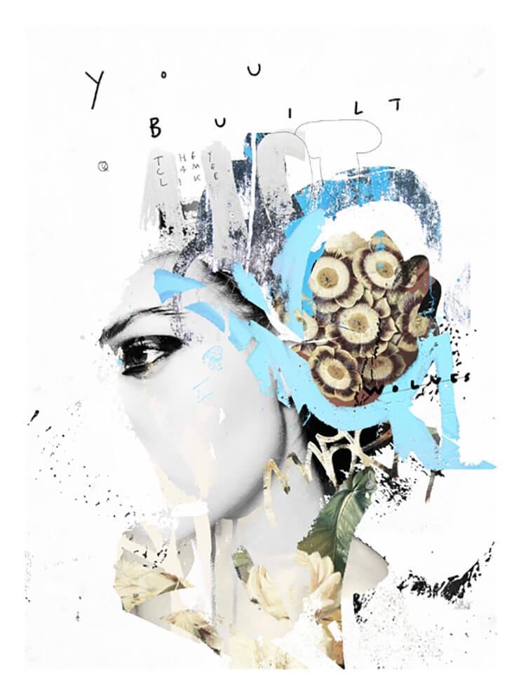Inspírate con el collage artístico de Raphaël Vicenzi