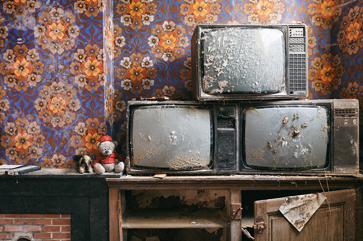 Julien Cornette, un explorador fotográfico que nos muestra la belleza de los lugares abandonados