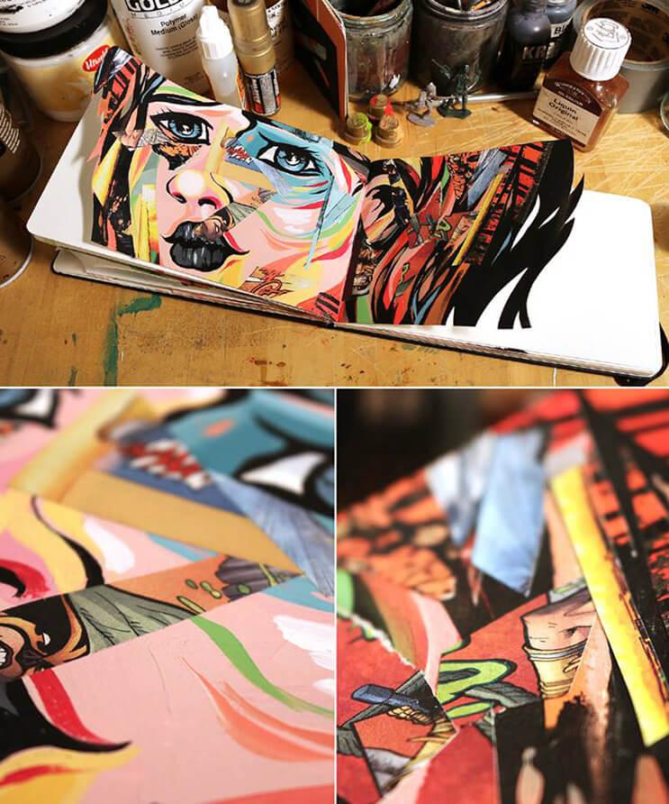 lo-que-el-artista-dominic-damien-hace-con-estos-cuadernos-los-sorprendera-10