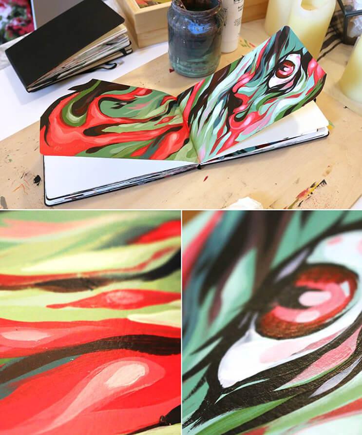 lo-que-el-artista-dominic-damien-hace-con-estos-cuadernos-los-sorprendera-5