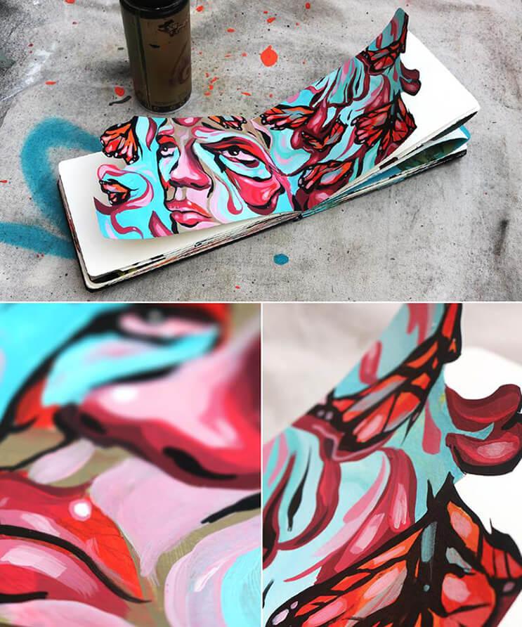lo-que-el-artista-dominic-damien-hace-con-estos-cuadernos-los-sorprendera-9