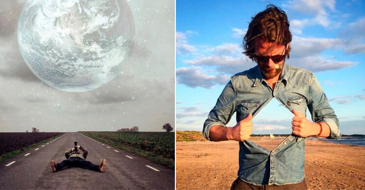 Este fotógrafo crea imágenes surrealistas tomadas con un Iphone