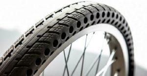 Nuevos neumáticos para bicicletas que no se revientan ni desinflan
