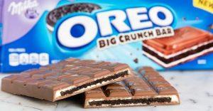 Oreo y Milka presentan una nueva barra de chocolate y el público de Internet enloquece