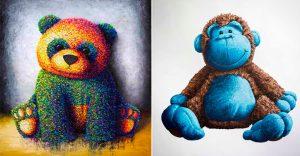 Pinturas del artista Brent Estabrook que nos retroceden a la infancia