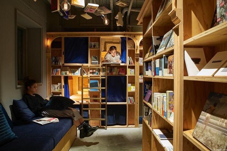 si-eres-fanatico-de-los-libros-este-hotel-es-para-ti-litera