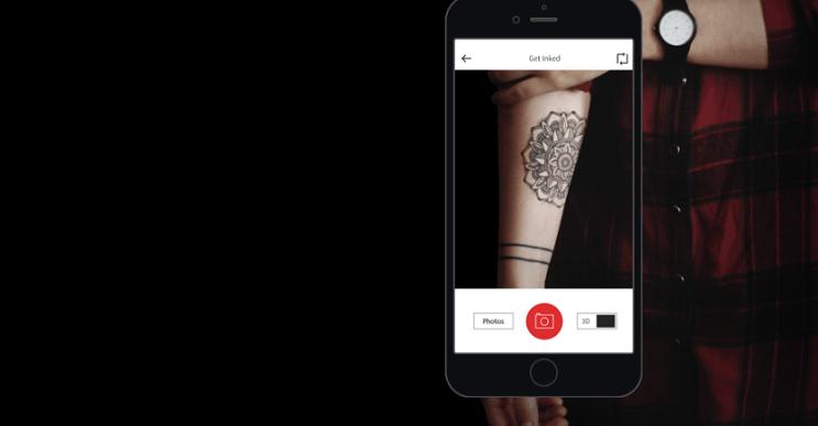 Si estás pensando hacerte un tatuaje, esta app muestra cómo se verá tu diseño una vez acabado