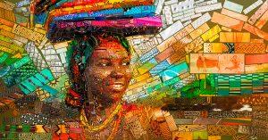 The African bricks: Hermosas ilustraciones a cargo de Charis Tsevis