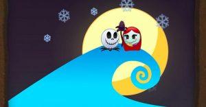 The Nightmare Before Christmas contada con emojis