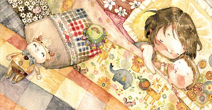 Las tiernas ilustraciones de la artista Le Thu