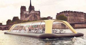 Un gimnasio flotante impulsado por sus propios miembros