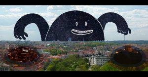 Una divertida animación que nos muestra cómo el día se convierte en noche