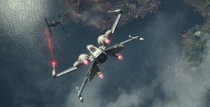 Una experiencia visual de 360 grados que te lleva a pilotear una nave de Star Wars