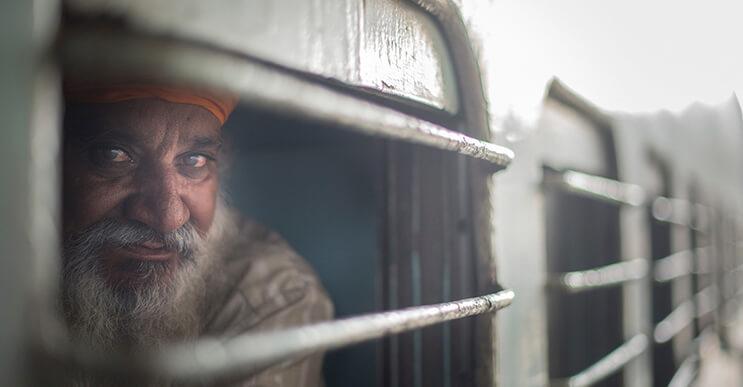 """""""Un tren lleno de emociones"""", por el fotógrafo Skander Khlif"""