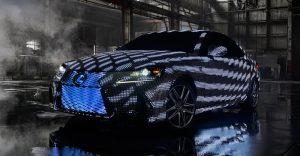 40,000 luces LED hacen con este Lexus la más alucinante animación que hay