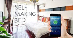 Ahora existe un edredón con aplicación que hace que tu cama se tienda sola