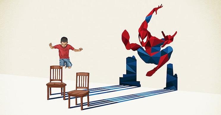 Asombrosas ilustraciones con lo que muchos niños quisieran ser