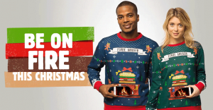 Burger King presenta la más inusual y ridícula chompa para esta navidad