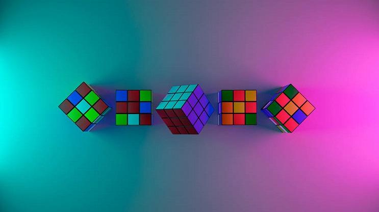 coloridas-instalaciones-que-nos-llevan-al-pasado-cubo-rubik-1