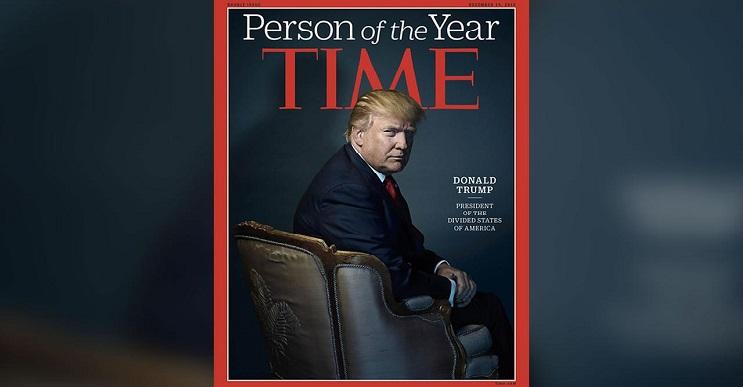 Donald Trump es elegido hombre del año por la revista Time