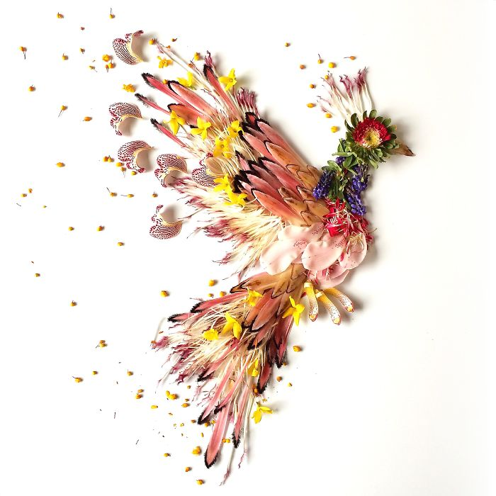 esta-artista-crea-vida-con-las-flores-que-encuentra-en-su-camino-fenix