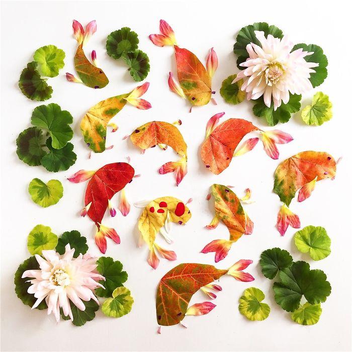 esta-artista-crea-vida-con-las-flores-que-encuentra-en-su-camino-pescados